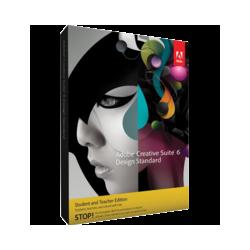 Adobe Creative Suite 6 Design Standard Student and Teacher Edition